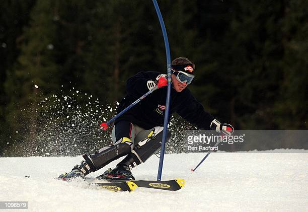 """Alain """"The Highlander"""" Baxter goes for gold on Saturday in St. Anton's grand finale - the Men's Slalom. With the support and encouragement of new..."""