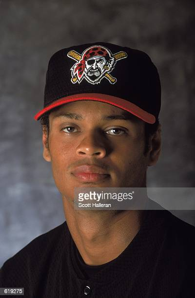 Alex Hernandez of the Pittsburgh Pirates poses for a studio portrait during Spring Training at the McKechnie Field in Bradenton FloridaMandatory...