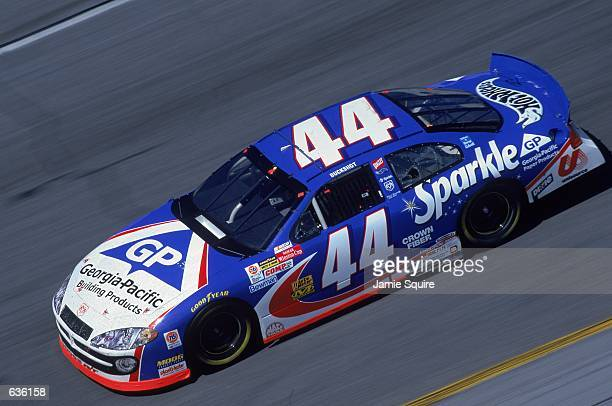 Buckshot Jones who drives a Dodge Intrepid for Petty Enterprises pulls out of a turn during the Daytona 500 Speedweeks part of the NASCAR Winston Cup...