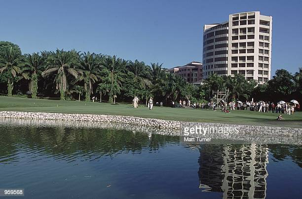 General view during the Carlsberg Malaysian Open 2001 held at the Saujana Palm Course in Kuala Lumpur Malaysia Mandatory Credit Matt Turner /Allsport