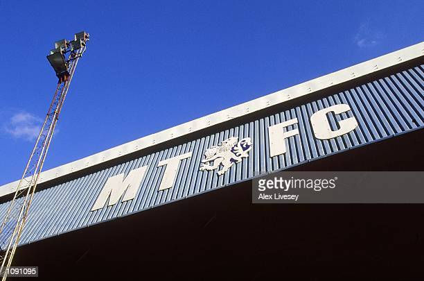 General view of Macclesfield Town Football Club stadium Moss Rose during a photoshoot held in Macclesfield, England. \ Mandatory Credit: Alex Livesey...