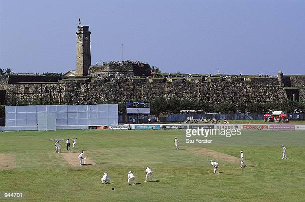 General view of the Galle International Cricket Stadium during the first test match between Sri Lanka and England played at the Galle International...