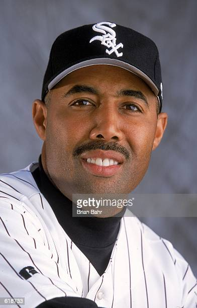 Harold Baines of the Chicago White Sox poses for a studio portrait during Spring Training at Tucson Electric Park in Tucson ArizonaMandatory Credit...