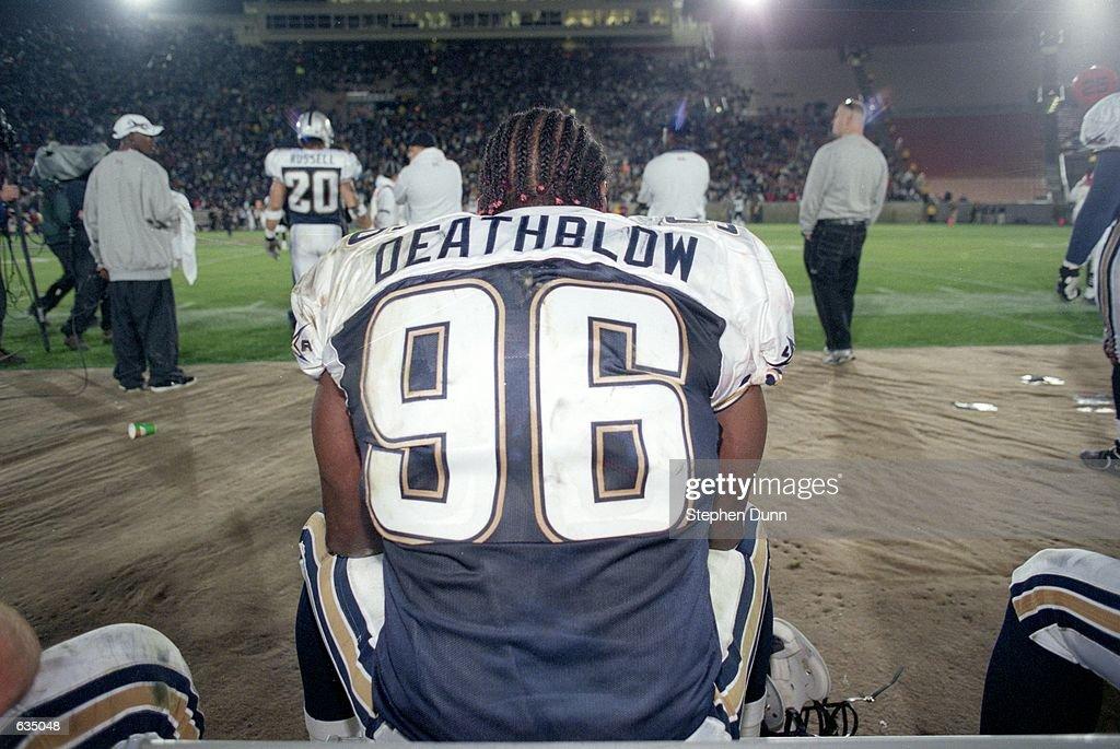"Jamal ""Deathblow"" Duff #96 : News Photo"