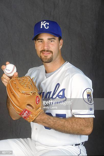 Jeff Suppan of the Kansas City Royals poses for a studio portrait during Spring Training at Baseball City Stadium in Davenport FloridaMandatory...