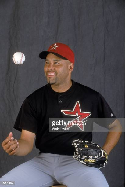 Jose Lima of the Houston Astros poses for a studio portrait during Spring Training at Osceola County Stadium in Kissimmee FloridaMandatory Credit...
