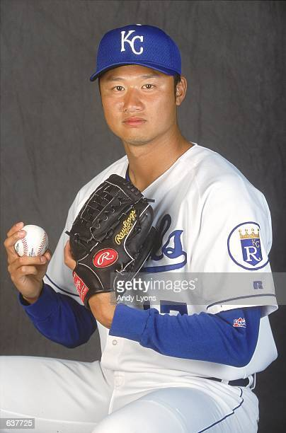 Mac Suzuki of the Kansas City Royals poses for a studio portrait during Spring Training at Baseball City Stadium in Davenport FloridaMandatory Credit...