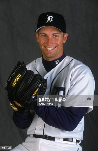 Mike Maroth of the Detroit Tigers poses for a studio portrait during Spring Training at Joker Marchant Stadium in Lakeland FloridaMandatory Credit...