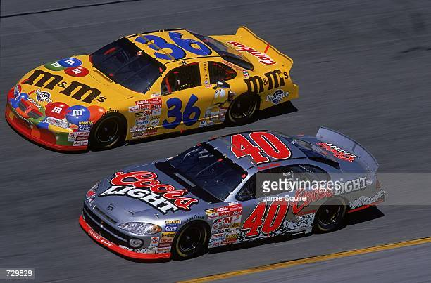 Sterling Marlin who drives a Dodge Intrepid for Chip Ganassi Racing races during the Daytona 500 Speedweeks part of the NASCAR Winston Cup Series at...