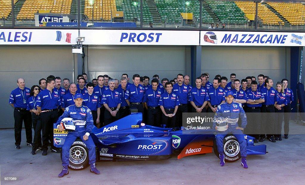 Prost launch X : News Photo