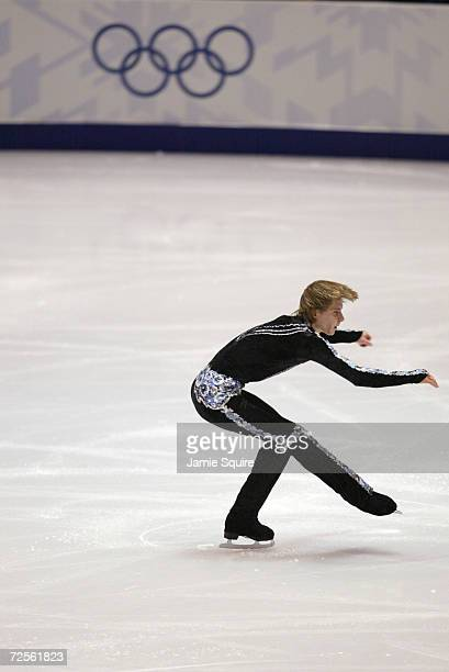 Alexander Abt of Russia competes in the men's short program during the Salt Lake City Winter Olympic Games at the Salt Lake Ice Center in Salt Lake...