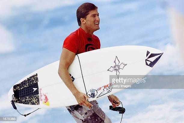 Bruce Irons of Kauai demolished his opponents to retain his Gotcha Pipeline title at Ehukai Beach on the North Shore of Oahu Hawaii USA Irons has won...