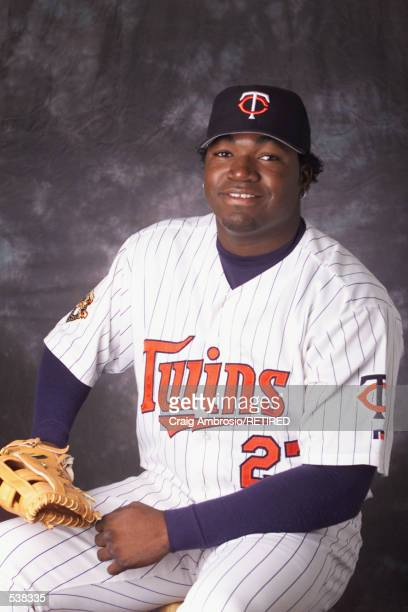 David Ortiz of the Minnesota Twins poses during media day at Lee County Sports Complex in Ft Myers Florida DIGITAL IMAGE Manditory Credit Craig...