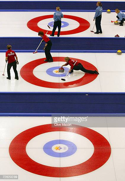 General view of the action at the Ogden Ice Sheet at the Salt Lake City Olympic Winter Games DIGITAL IMAGE Mandatory Credit Clive Mason/Getty Images
