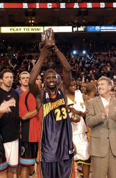Jason Richardson MVP Trophy