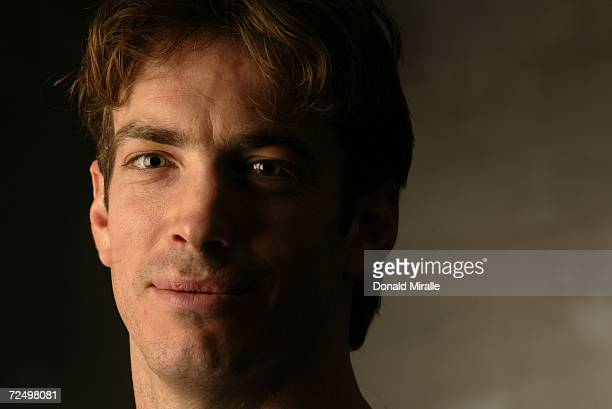 Joe Sakic of the Colorado Avalanche in his North America jersey during the NHL Allstar week in Los Angeles California DIGITAL IMAGE Mandatory Credit...