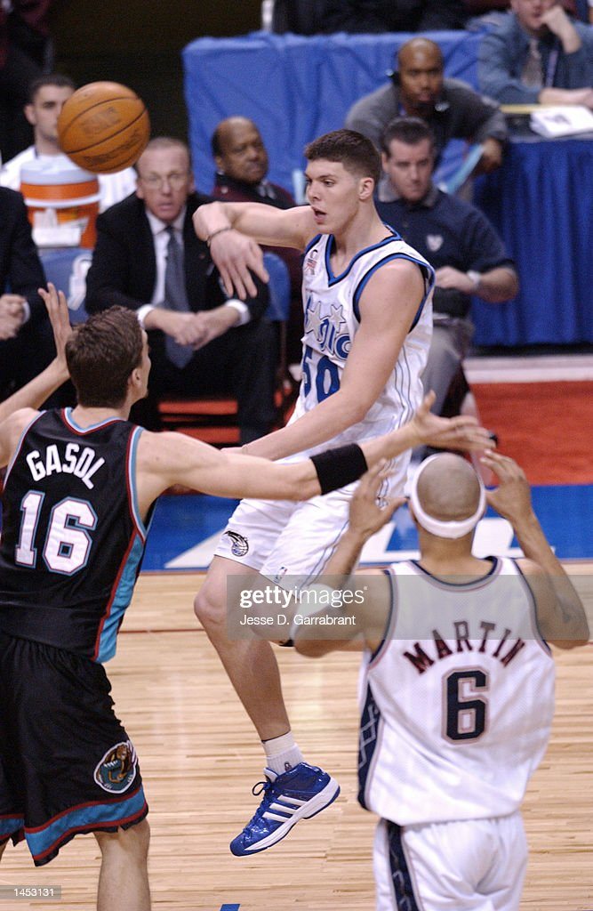Mike Miller 50 Of The Orlando Magic With Pass During Rookie Challenge At