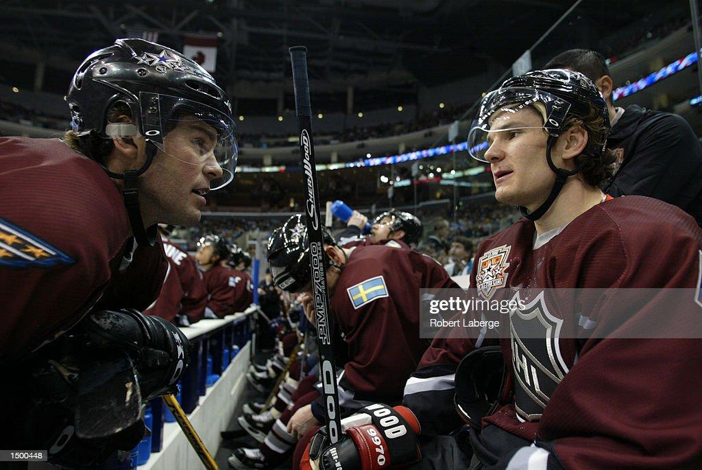 NHL Allstar Game X : News Photo