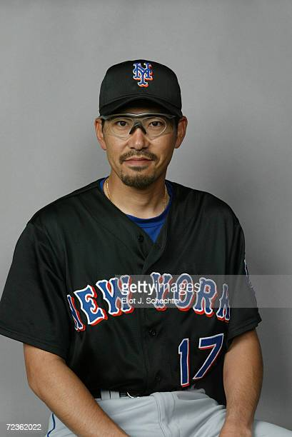 Satoru Komiyama of the New York Mets posses for Spring Training Picture Day at Thomas J White Stadium in Port St Lucie Florida DIGITAL IMAGE...