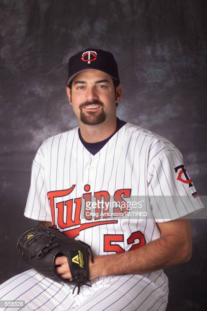 Tony Fiore of the Minnesota Twins poses during media day at Lee County Sports Complex in Ft Myers Florida DIGITAL IMAGE Manditory Credit Craig...