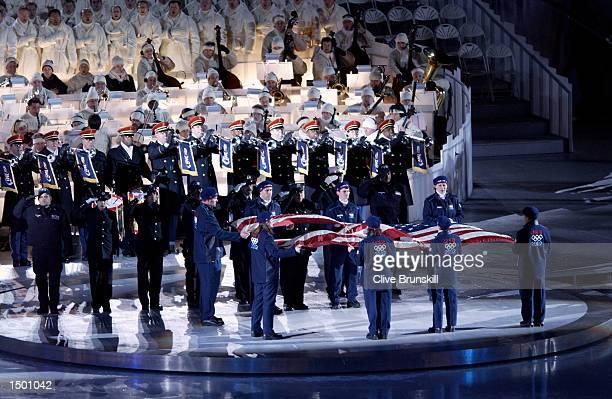 US team athletes Biathlete Kristina Sabasteanski Skeleton competitor Lee Ann Parsley Curler Stacey Liapis figure skater Todd Eldredge ice hockey...
