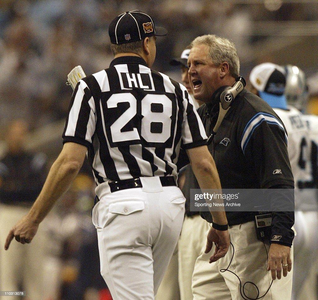 2003 Super Bowl XXXVII  - Tampa Bay Buccaneers over Oakland Raiders 48-21 : News Photo