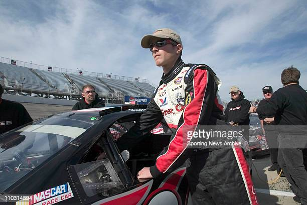 Kasey Kahne during the qualifying for the Busch Series Goody's Headache Powder 200 at the North Carolina Speedway in Rockingham NC