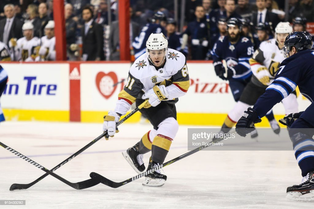 NHL: FEB 01 Golden Knights at Jets : News Photo