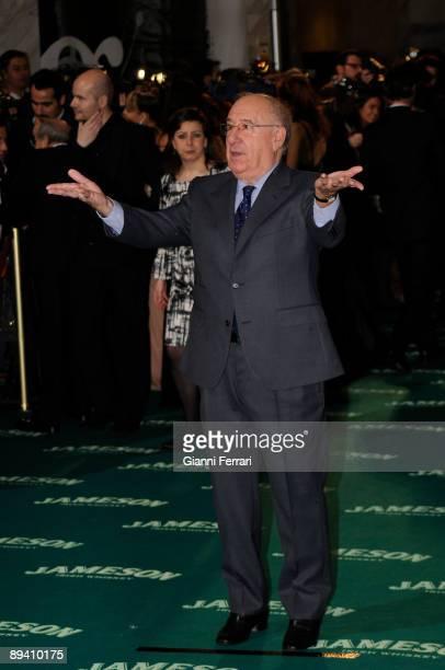 February 03 2008 Palacio de Congresos Madrid Spain Spanish Film Academy Goya awards ceremony In the image the actor Alfredo Landa