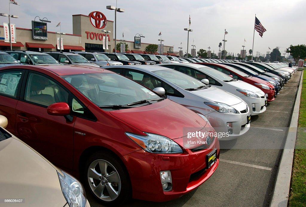 EL MONTE, CA. February 04, 2010 U2013u2013u2013 Toyota Prius Displayed At