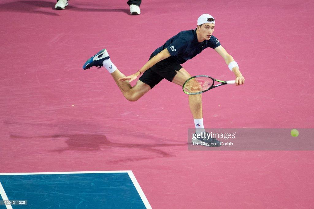 Open Sud de France. Tennis. : News Photo