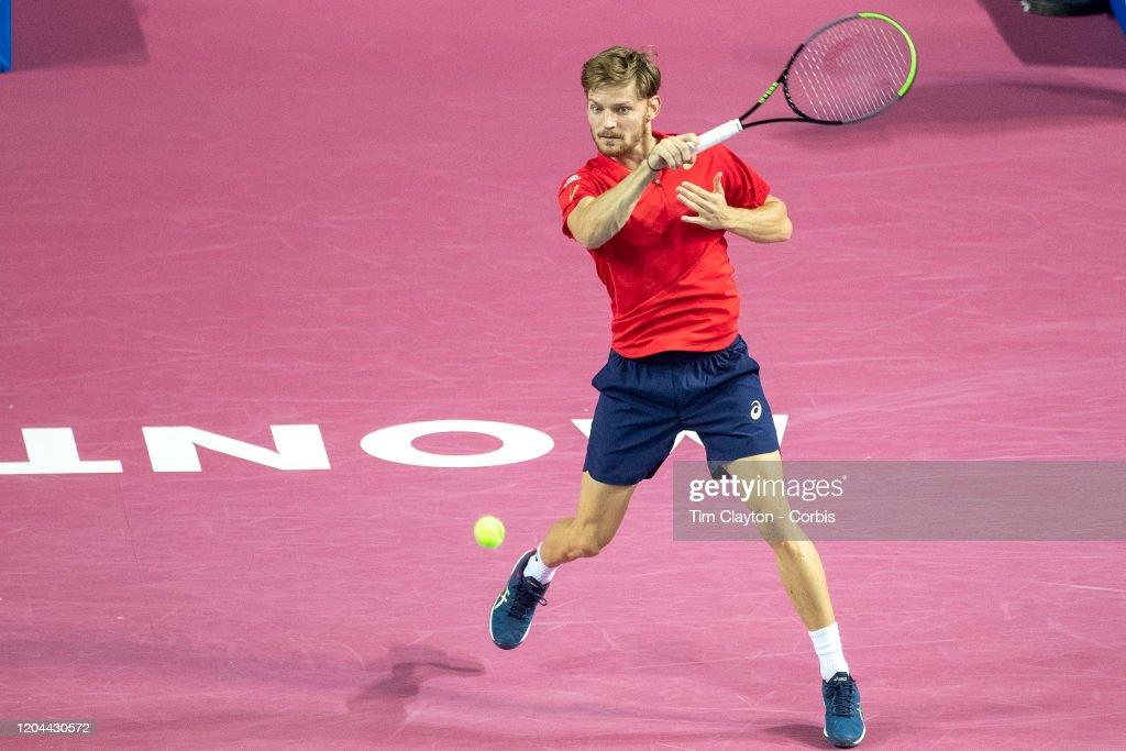 Open Sud de France. Tennis. : Photo d'actualité
