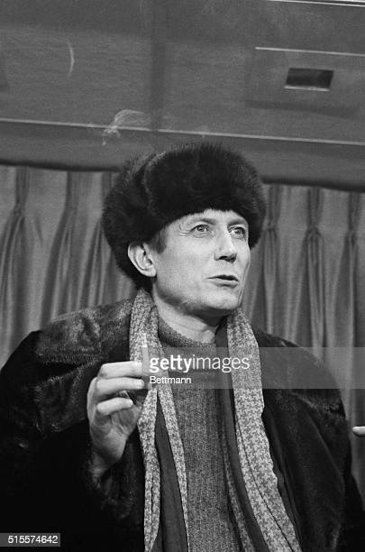 February 1 1972YevtushenkoNew York Smoking a cigarette he looks very Russian as Russian as a movie character actor might portray one He is a Russian...
