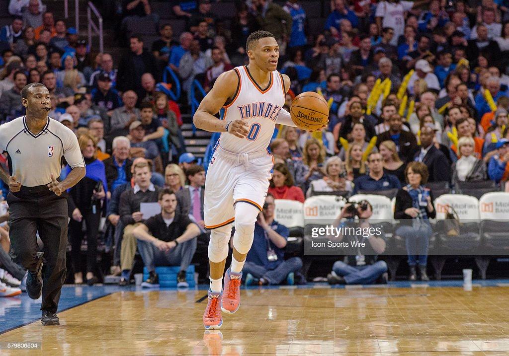 NBA: FEB 01 Wizards at Thunder : News Photo