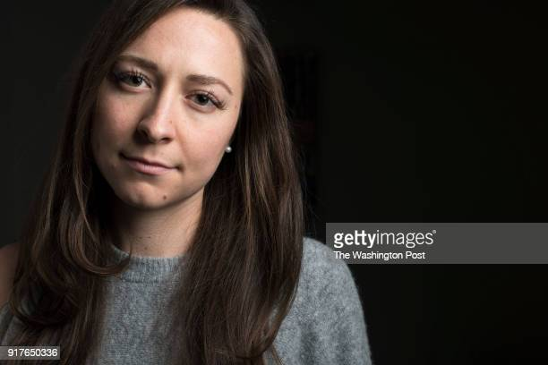 Ariana Kukors an Olympic swimmer who accused her coach of sexually assaulting her beginning when she was 16 poses for a portrait in Manhattan on...