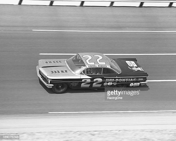 "Glen ""Fireball"" Roberts led all 40 laps to win the first 100mile qualifying race for the Daytona 500 NASCAR Cup event at Daytona International..."