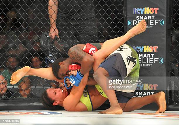 Bellator 133 MMA at at the Save Mart Center in Fresno CA Julia Budd vs Gabrielle Holloway Budd the No2 women's featherweight in the world dominated...
