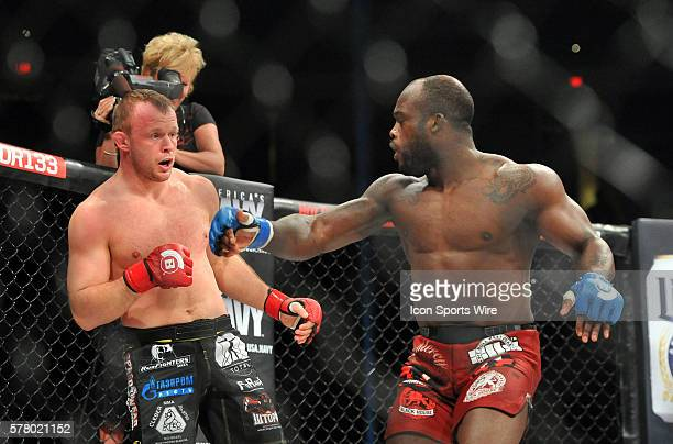Bellator 133 MMA at at the Save Mart Center in Fresno CA main event between middleweights Alexander Shlemenko and Melvin Manhoef Shlemendo went on to...