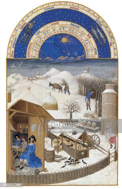 February 14121416 Found in the Collection of Musée Condé Chantilly Artist Limbourg brothers