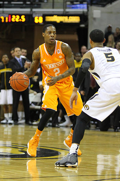 NCAA BASKETBALL: FEB 15 Tennessee at Missouri Pictures