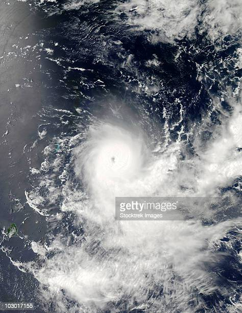 February 19, 2010 - Tropical Cyclone Gelane east-northeast of Port Louis, Mauritius.