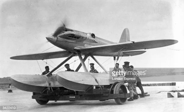 England's 1927 Schneider Cup winner, a Supermarine S5 which reached a record speed of 281mph.