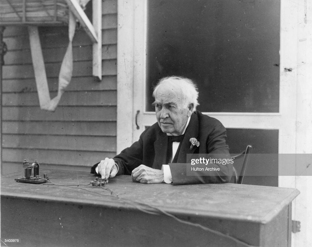 Thomas Edison Pictures | Getty Images for Thomas Edison Telegraph  174mzq