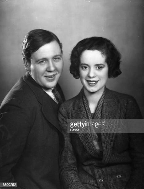 British film stars Charles Laughton and his wife Elsa Lanchester whom he married in 1929 Lanchester starred as Anne of Cleves opposite Laughton in...