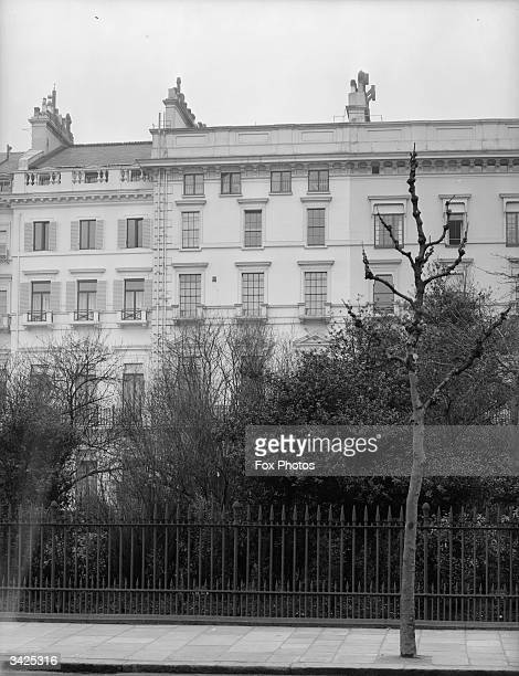2 Hyde Park Gardens the London residence of the Woolworths heiress Barbara Hutton