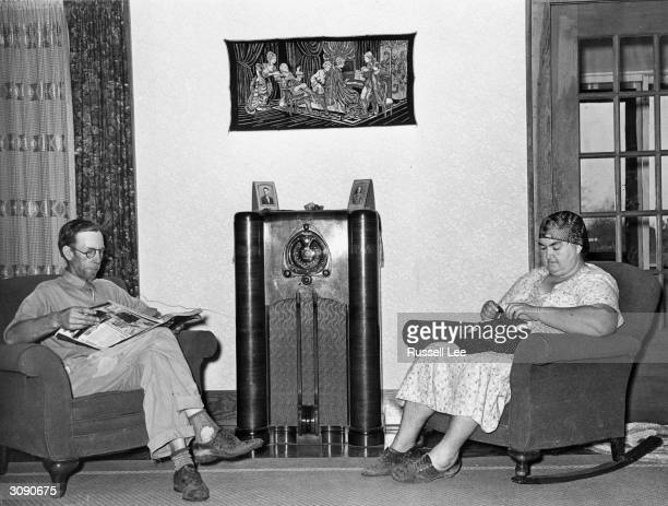 Clients of the Farm Security Administration at home in Hidalgo County Texas