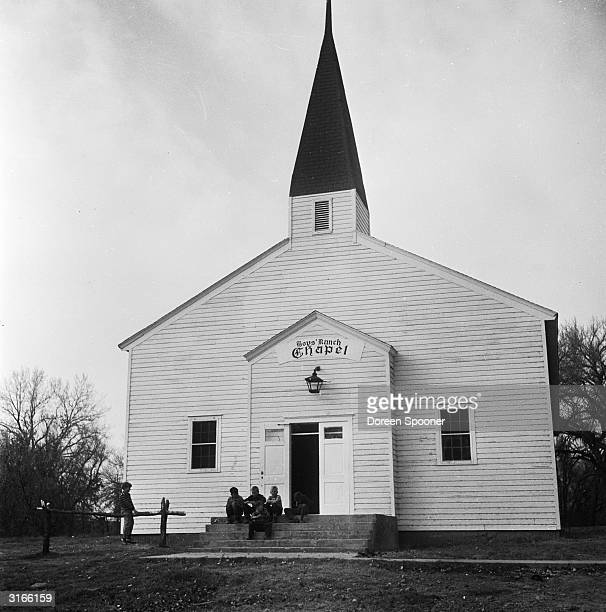The chapel at the Tascosa boys' ranch in Texas The ranch was set up as an alternative to reform school to provide a refuge for boys from broken homes...