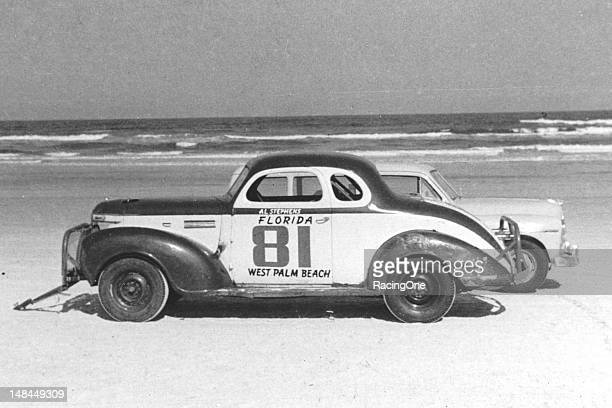 Car owner Cotton Bennett entered this 1939 Plymouth Sportsman in the ModifiedSportsman race on the Daytona BeachRoad Course for Al Stephens of West...