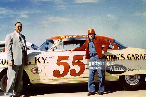 Bub King of Corbin KY drove this 1952 Hudson to a 21st place finish in the NASCAR Cup race on the Daytona BeachRoad Course