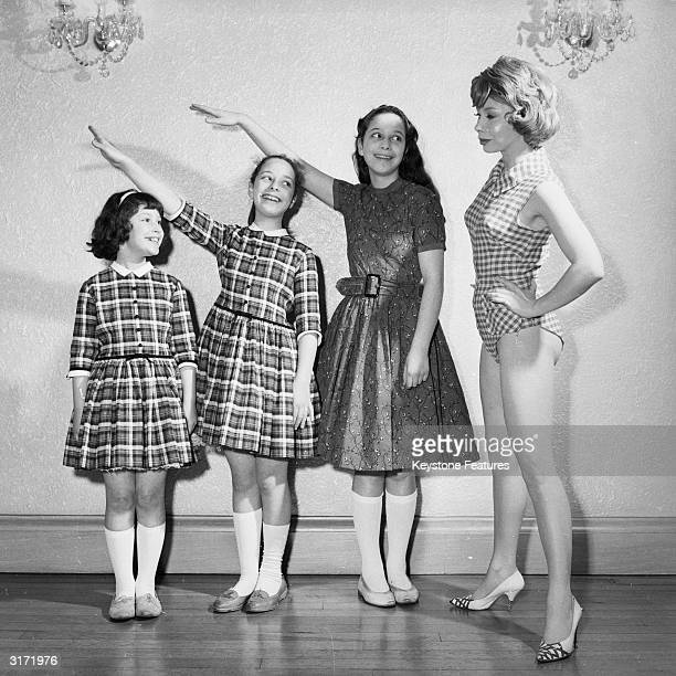 Youthful looking model mother Ruth Lee and her daughters